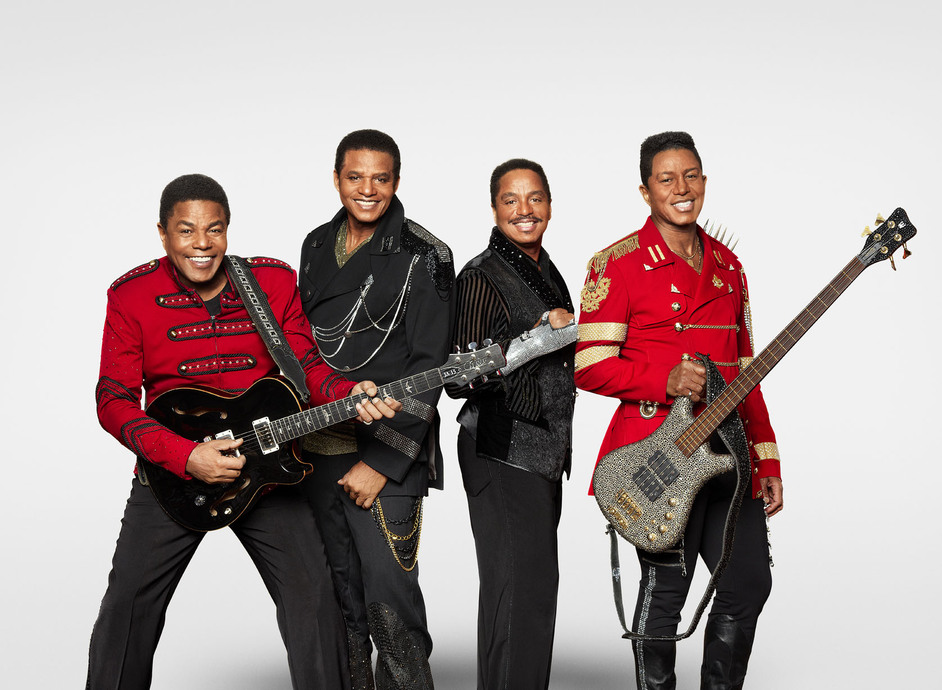 BBC Proms in the Park 2015 - The Jacksons - (L-R) Jermaine, Tito, Jackie, Marlon