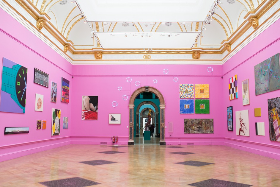 Royal Academy Summer Exhibition - Gallery III of the Summer Exhibition 2015 (c) David Parry, Royal Academy of Arts