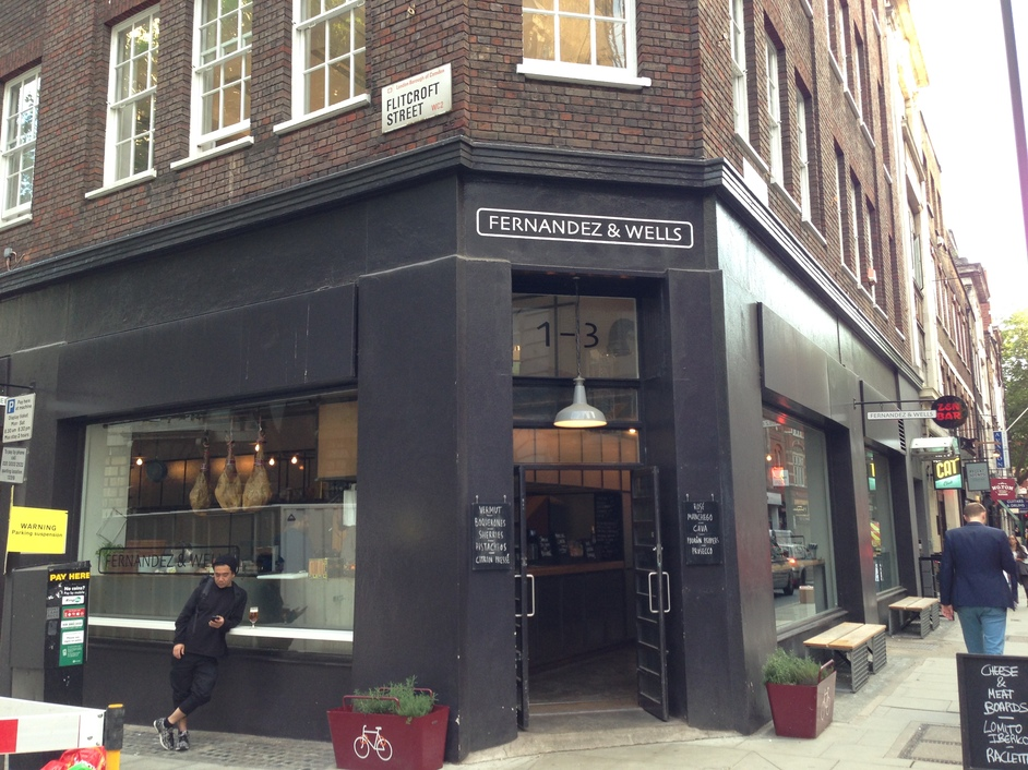Fernandez and Wells Denmark Street