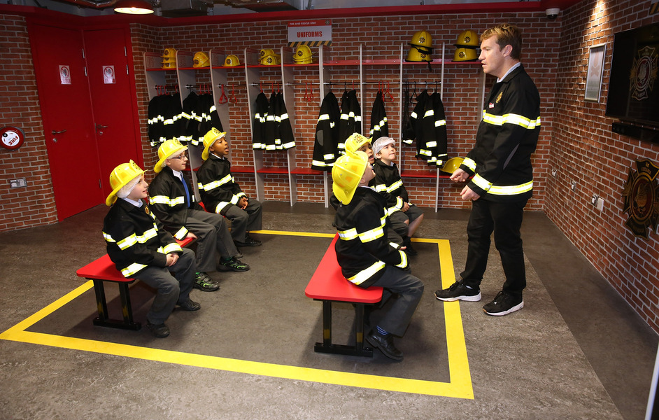 KidZania London - Fire Briefing at KidZania London