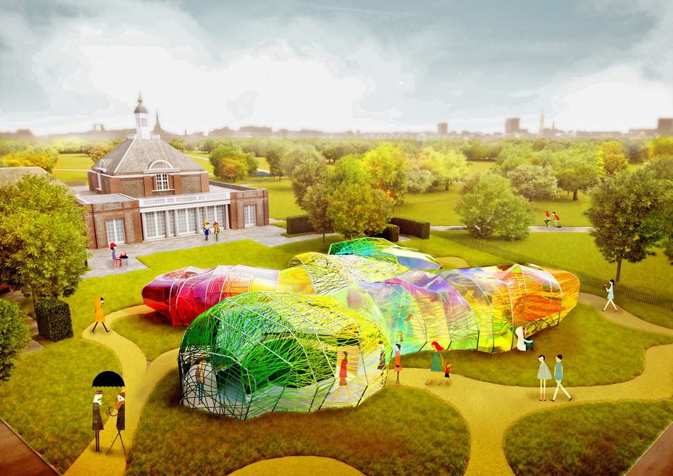 London Festival of Architecture - Park Nights 2015 Prelude, Selgascano in Coversation (c) Serpentine Gallery