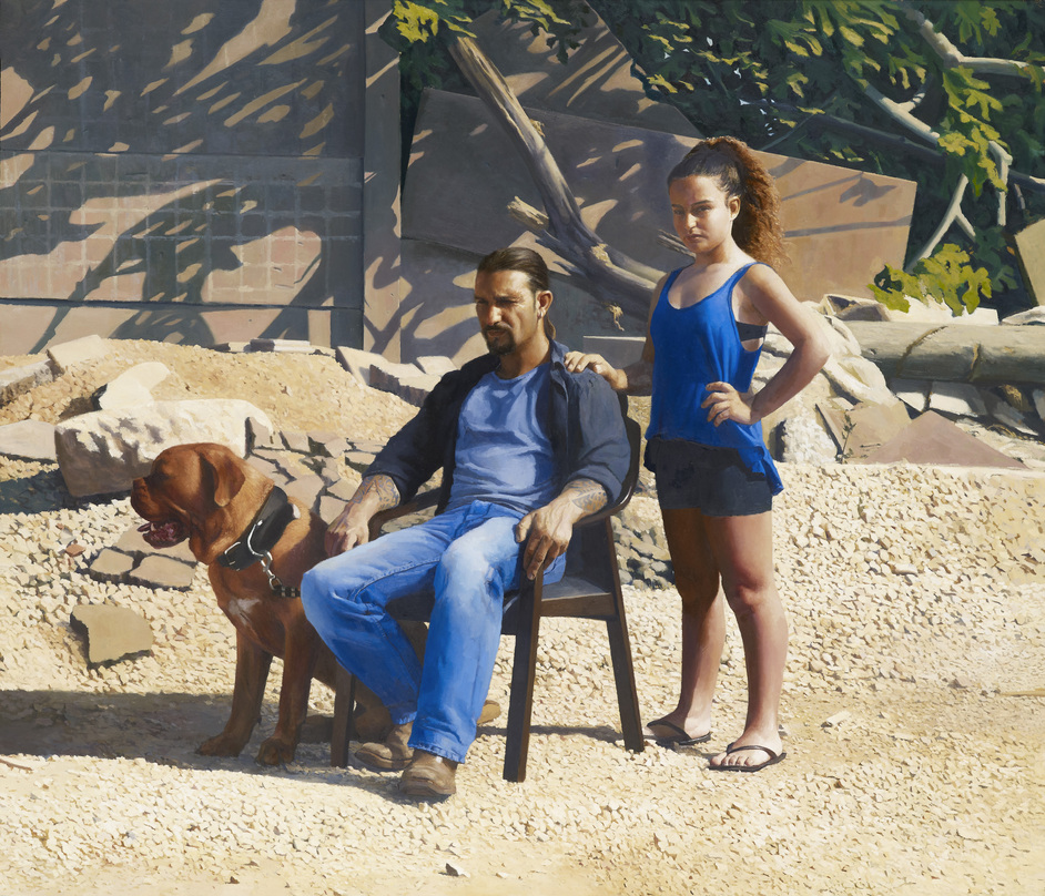 BP Portrait Award 2015 - Annabelle and Guy by Matan Ben Cnaan (c)Matan Ben Cnaan