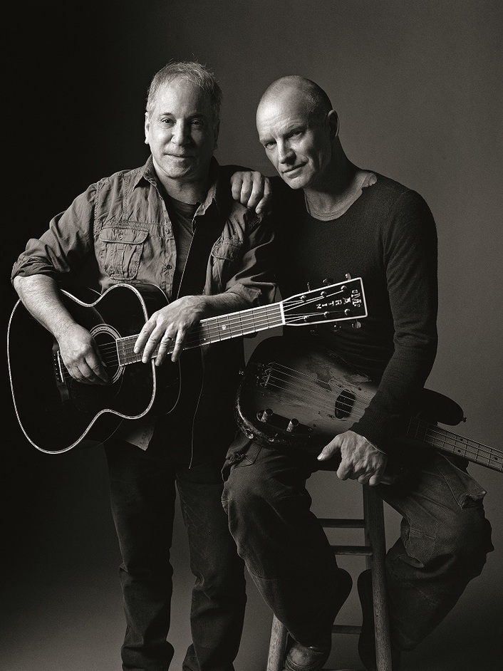 Sting & Paul Simon: On Stage Together