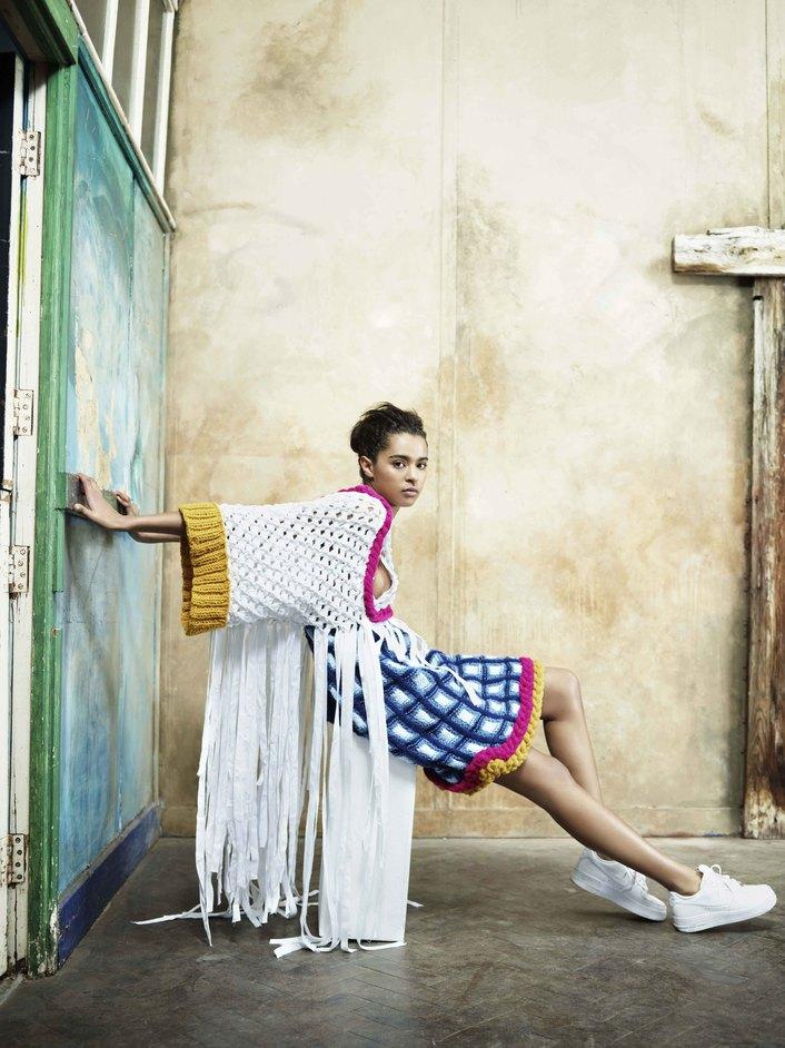 Graduate Fashion Week - Colchester University, sneak preview shoot, Design by Chloe Woodgate, GFW 2014