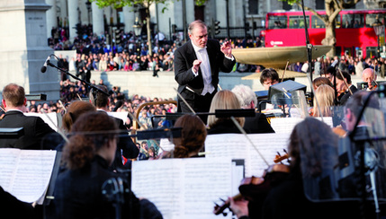 BMW LSO Open Air Classics: Shostakovich - London Symphony Orchestra. Photo: Igor Emmerich