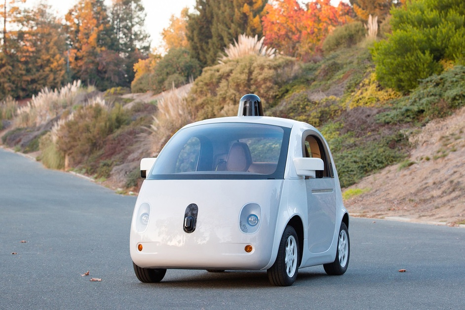 Designs of the Year 2015 - Google's Self-Driving Car. Photo by Gordon De Los Santos