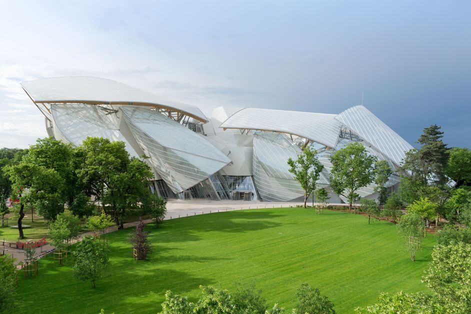 Designs of the Year 2015 - Fondation Louis Vuitton, Paris, designed by Frank Gehry. Photo by Iwan Baan 2014