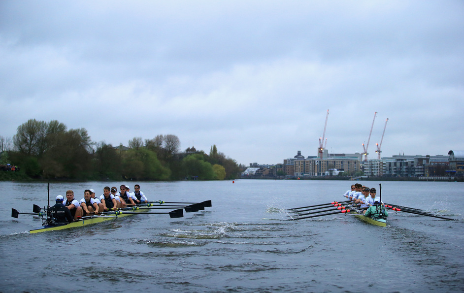 The BNY Mellon Boat Race: Oxford vs Cambridge - 2014 BNY Mellon Boat Race. Photo: Getty Images