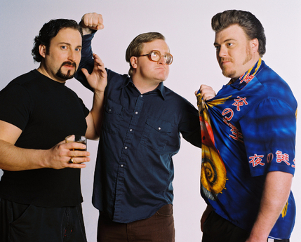 Trailer Park Boys: Drunk, High and Unemployed - L-R: Julian, Bubbles, Ricky