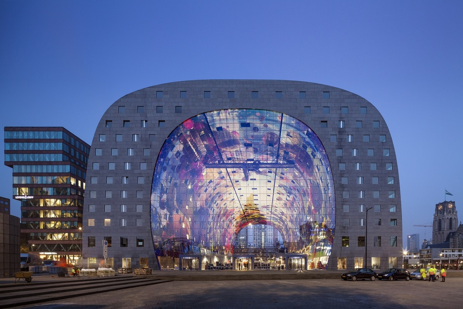 Designs of the Year 2015 - Market Hall, Rotterdam