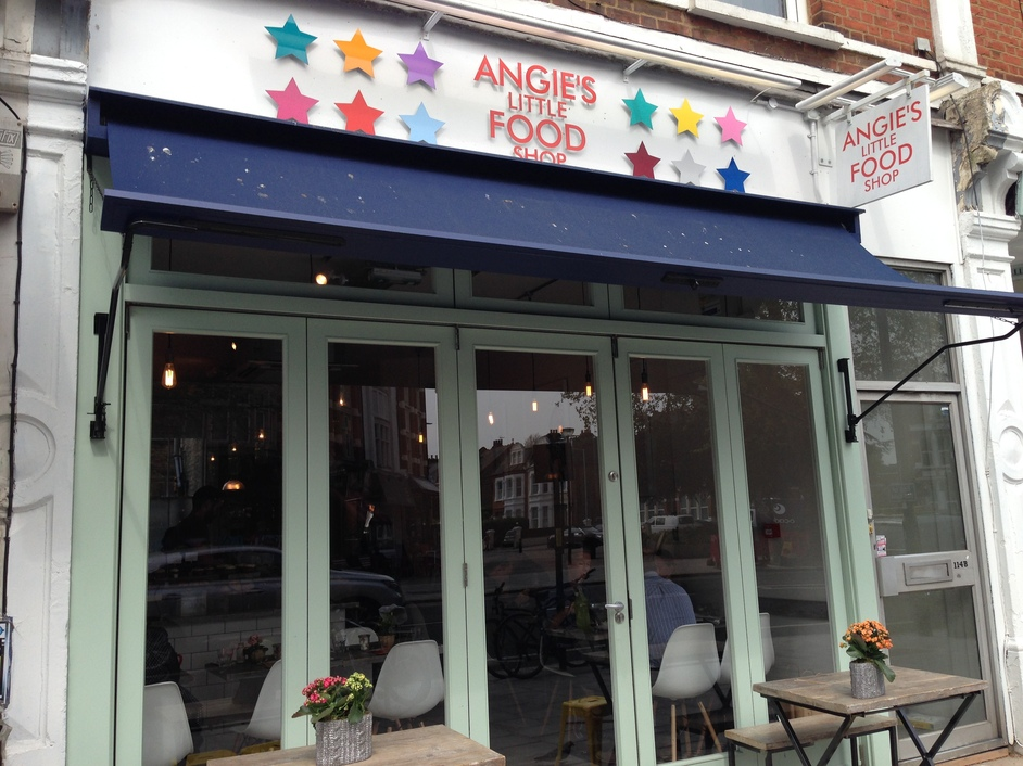 Angie 39 s little food shop chiswick high road london for Angie s african cuisine