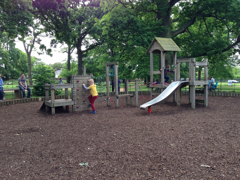 Richmond Park - Richmond Park, Kingston Gate Playground for under 5s