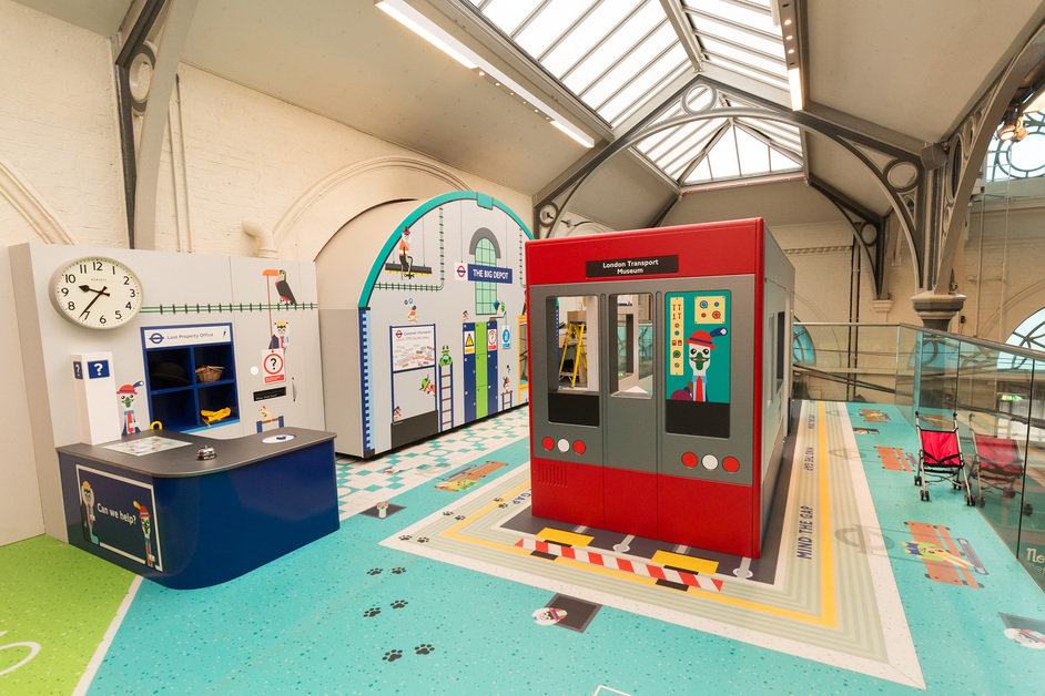 London Transport Museum - All Aboard play zone