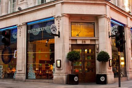 Pizza Express Panton House London Restaurantsitalian