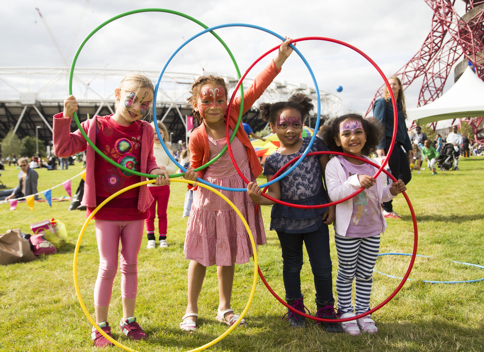 The Great Get Together: The Big Lunch at the Olympic Park