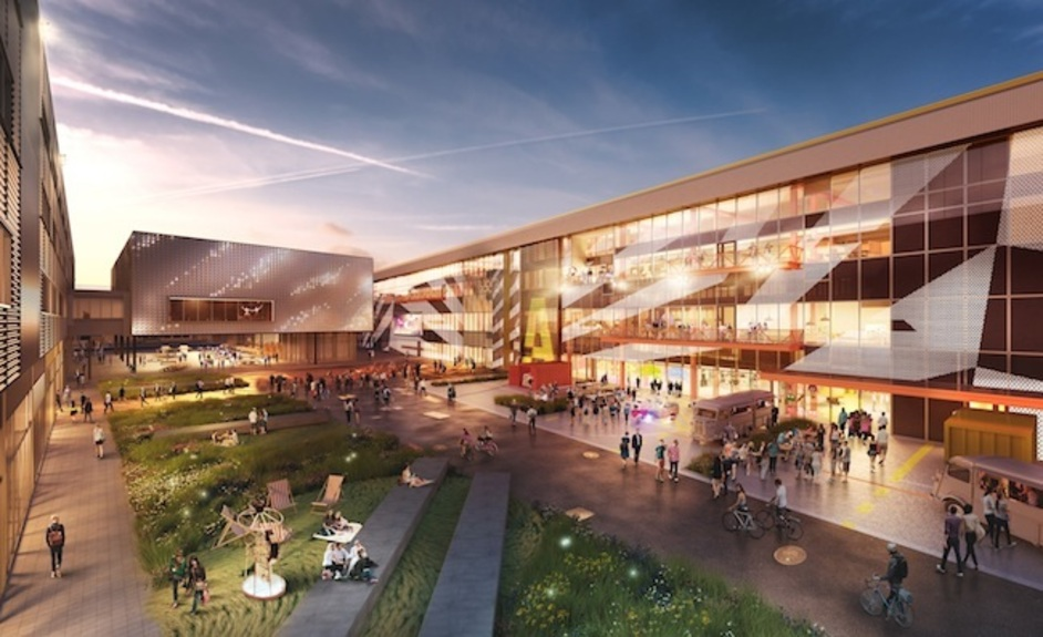 London Festival of Architecture - Here East, being developed on the Queen Elizabeth Olympic Park
