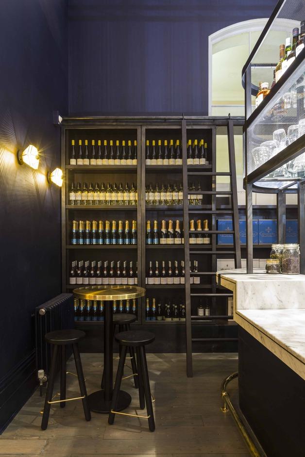 Pennethorne's Cafe Bar - Wine store