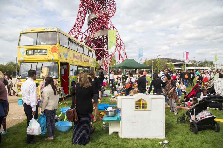 The Great Get Together Big Lunch At Olympic Park