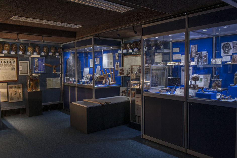 The Crime Museum Uncovered - Inside the Metropolitan Police's hidden Crime Museum at New Scotland Yard, 2015,,(c)Museum of London