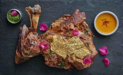 The Cinnamon Club - Lamb Shoulder