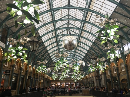 Covent Garden Christmas Lights 2016