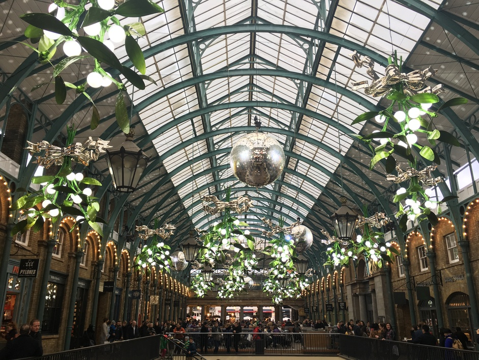 Covent Garden Christmas Lights 2015