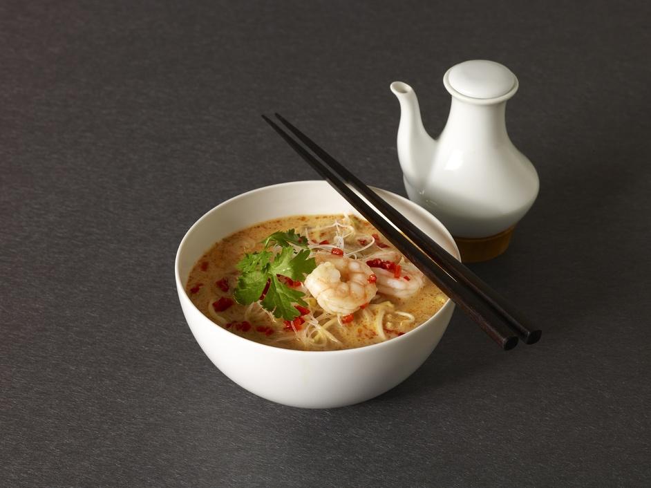 Yum Som - Spicy Prawn Laksa