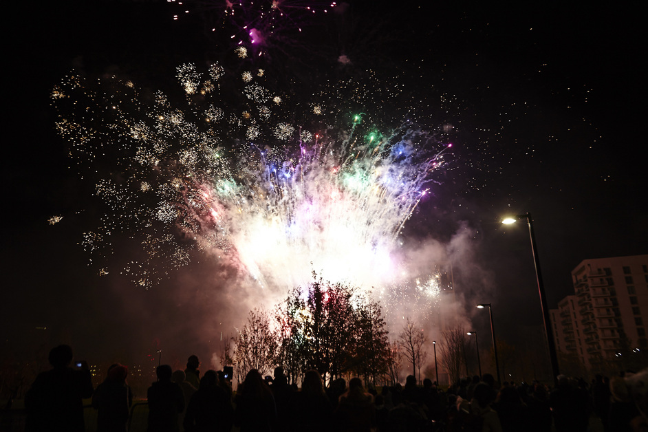 East Village E20 Fireworks Display