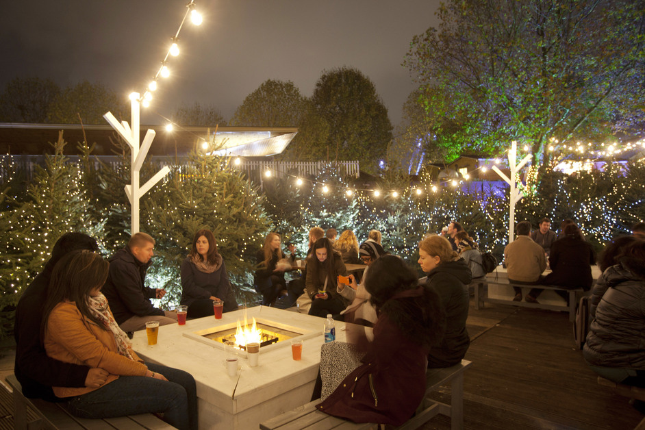 The Rekorderlig Cider Lodge - Rekordelig Cider Lodge at Winter at Southbank Centre with NatWest (c) Belinda Lawley