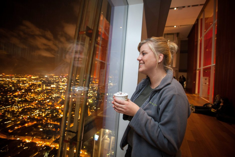 The View from The Shard - Bonfire night at The View from The Shard