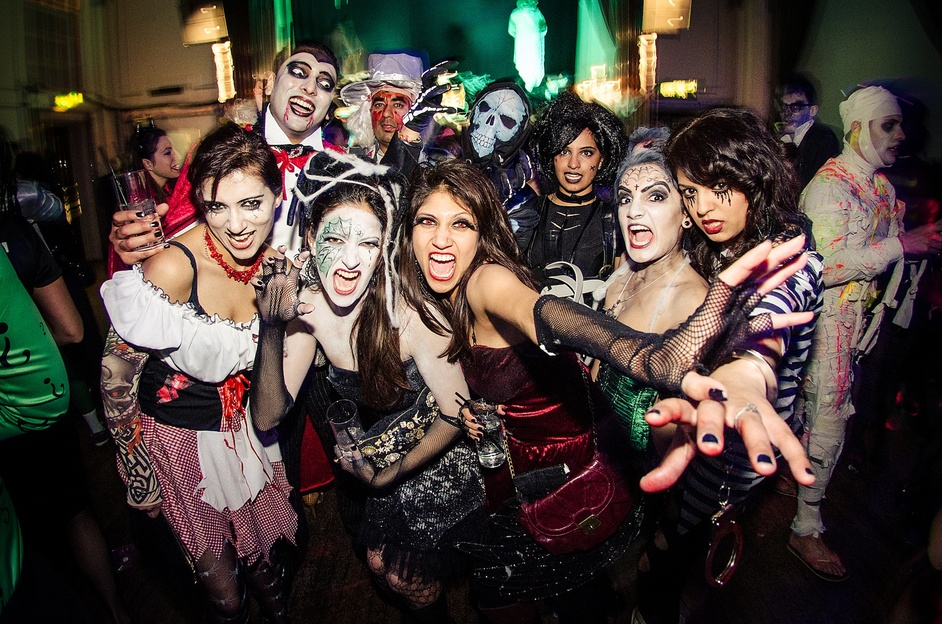 The Mansion London Halloween Ball