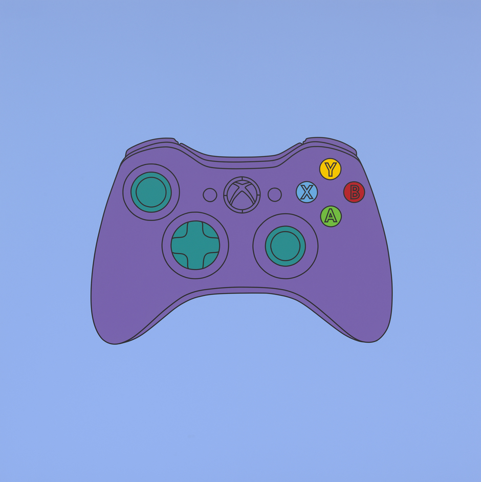 Michael Craig-Martin: Transience - Untitled (xbox control) 2014 (c) Michael Craig-Martin. Courtesy Gagosian Gallery. Photo: Mike Bruce