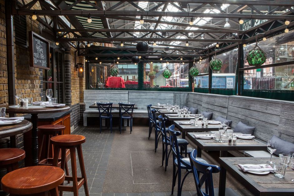 Wright Brothers Spitalfields - Terrace
