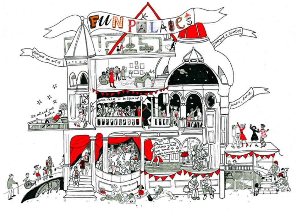 Half Moon: Fun Palaces