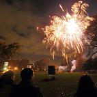 Ravenscourt Park Fireworks 2015