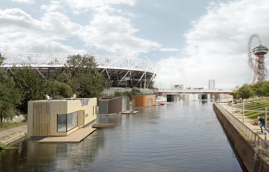 New Ideas for Housing - Buoyant Starts, Floating Homes (c)Baca Architects