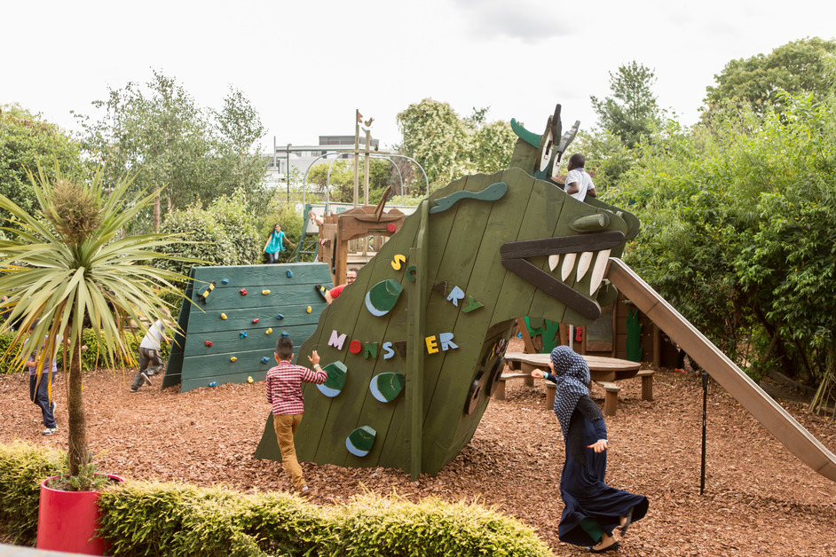Discover Children's Story Centre - The Story Garden at Discover
