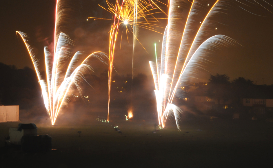 The Ealing Cricket Club Fireworks Display