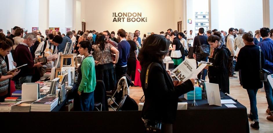 The London Art Book Fair 2015 - Installation View - The London Art Book Fair at the Whitechapel Gallery