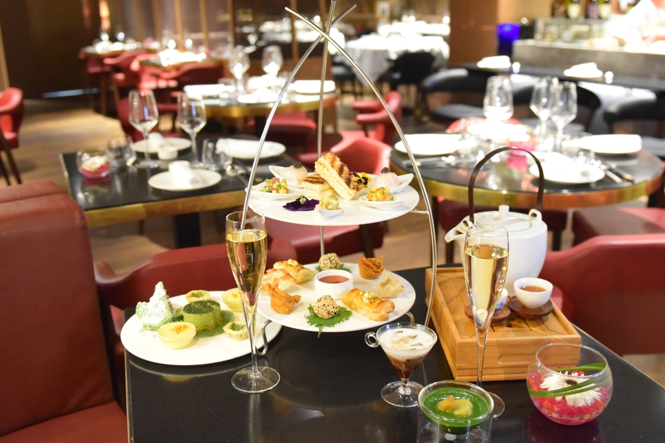chinese afternoon tea at harrods at chai wu harrods
