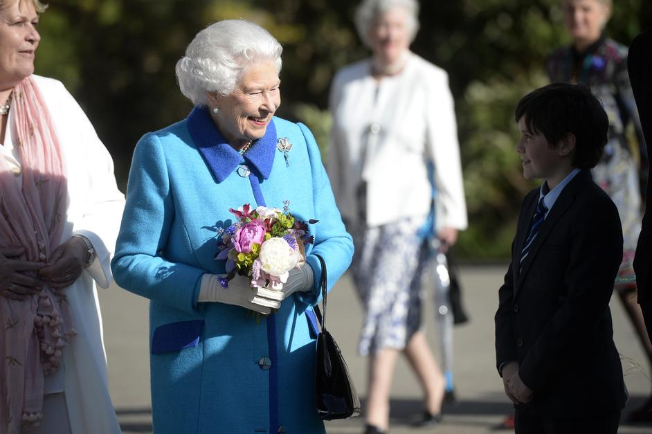 RHS Chelsea Flower Show - The Queen, Chelsea Flower Show 2015, photo RHS