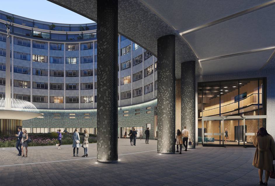 Television Centre - Inner Courtyard