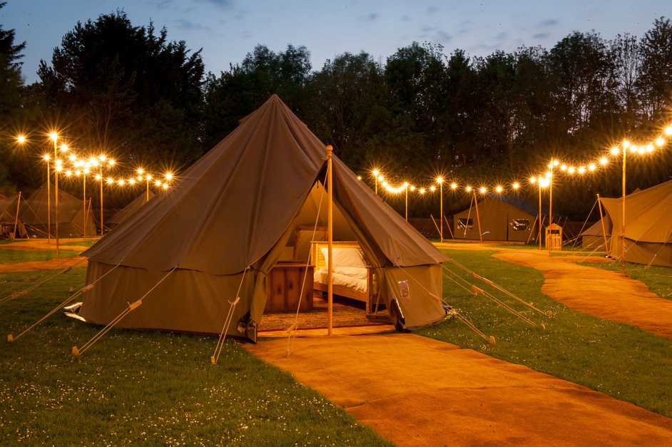 Chessington World of Adventures - Glamping, bell tent