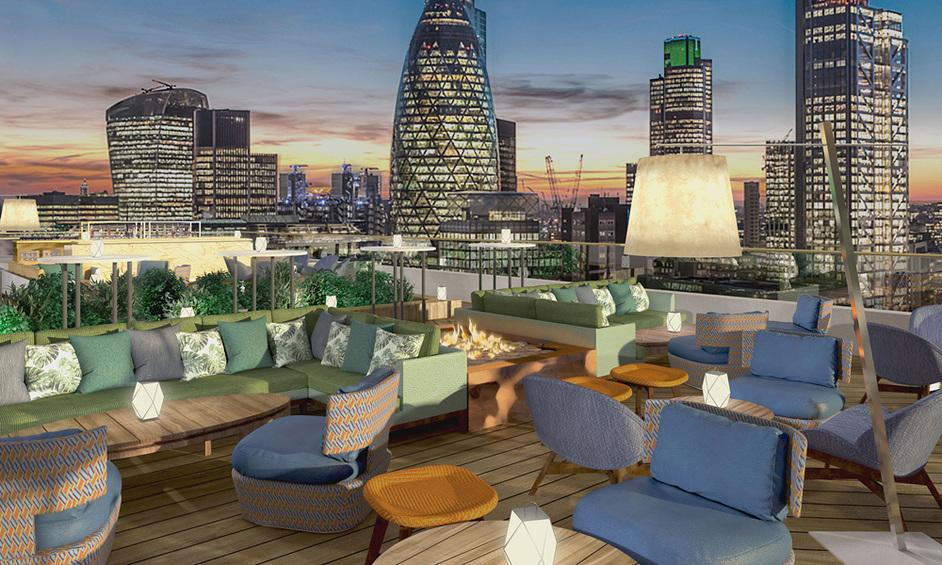 The Montcalm Royal London House - Skybar, CGI