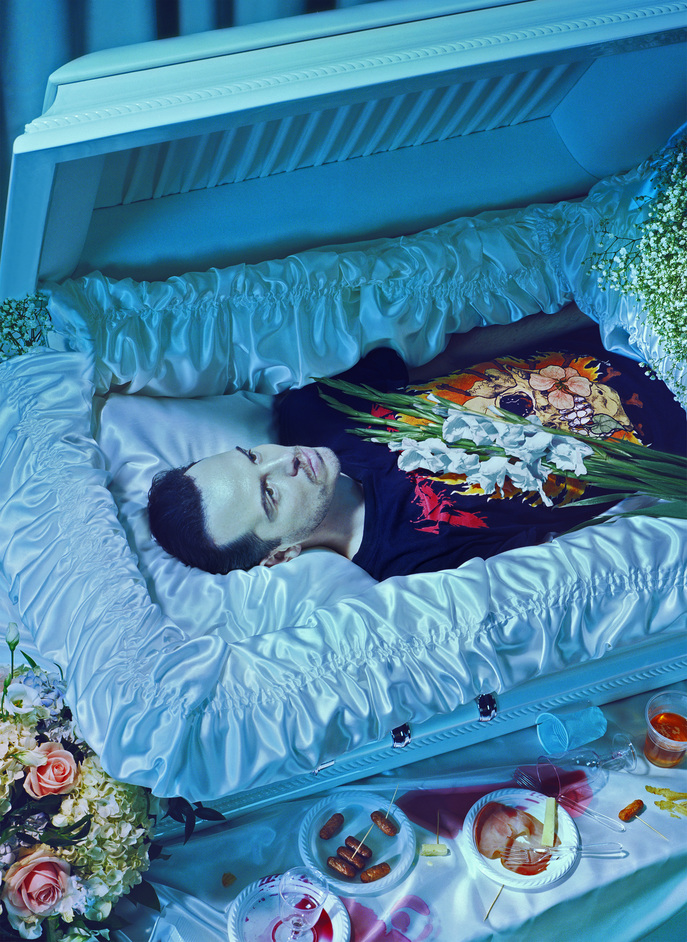 Hamlet - Andrew Scott photographed by Miles Aldridge