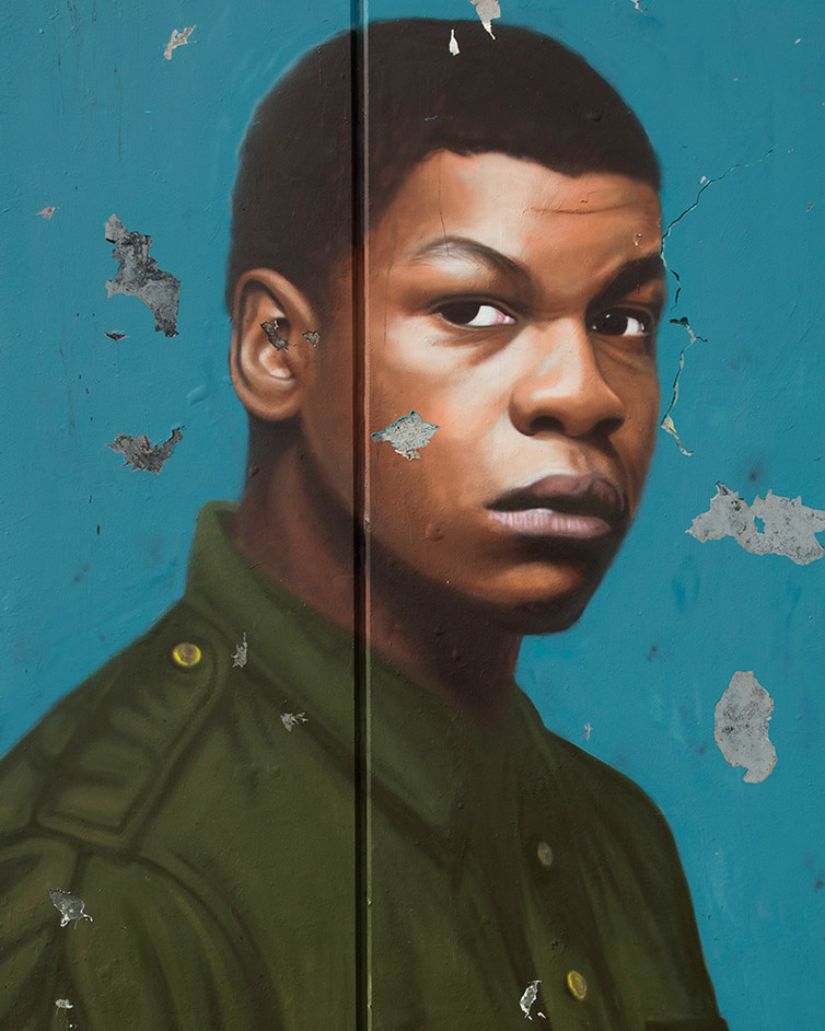 Woyzeck - John Boyega in Woyzeck at The Old Vic. Photo by AKSE P19 Pentagram