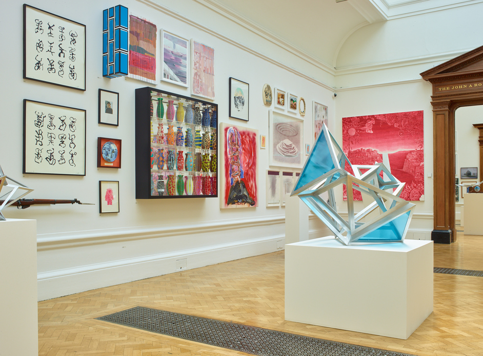 Royal Academy Summer Exhibition - Installation view of the Summer Exhibition 2016 (c) David Parry