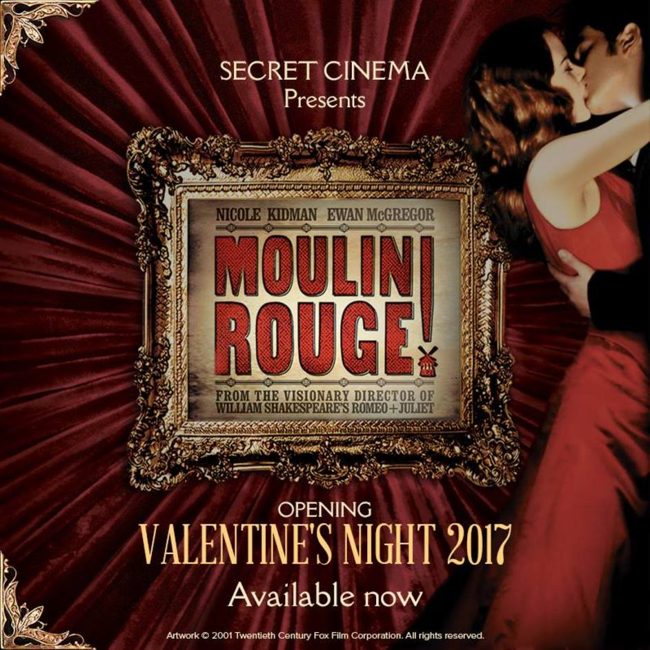 Secret Cinema: Moulin Rouge!