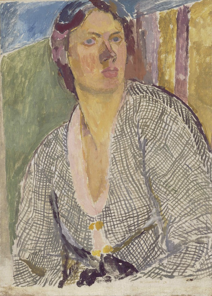 Vanessa Bell - Vanessa Bell 1879-1961, Self Portrait, ca. 1915, (c) The Estate of Vanessa Bell