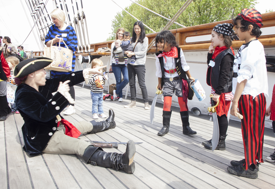 Easter Egg Hunt at Cutty Sark - (c) National Maritime Museum, London